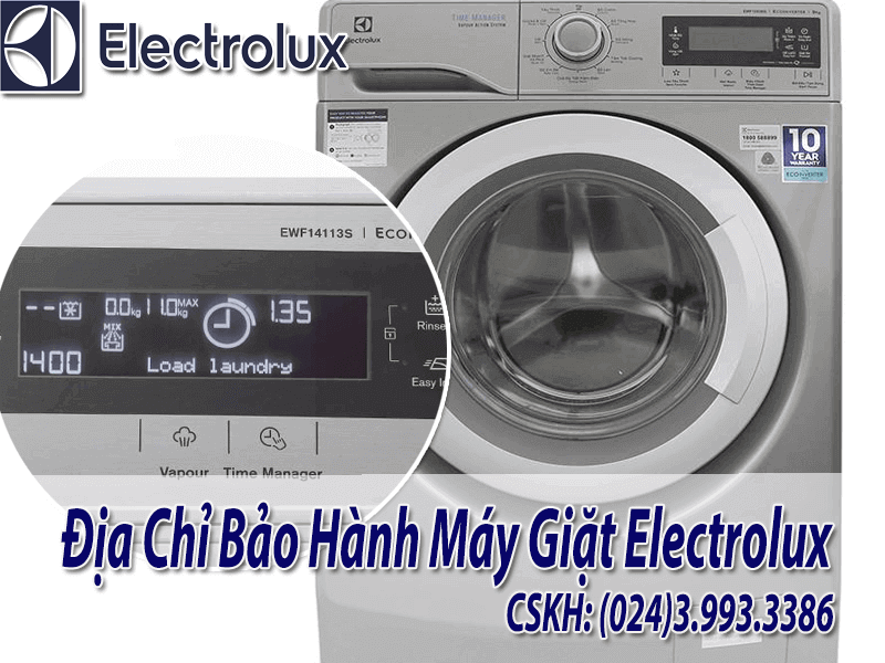 Trung tâm bảo hành máy giặt Electrolux