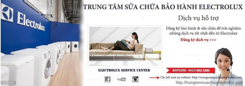 Trung tâm bảo hành electrolux chính hãng tại hà nội