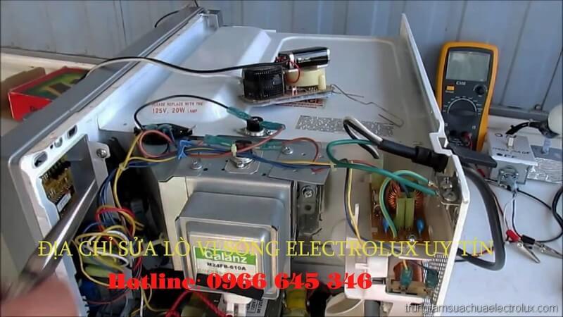Địa chỉ sửa chữa lò vi sóng electrolux uy tín