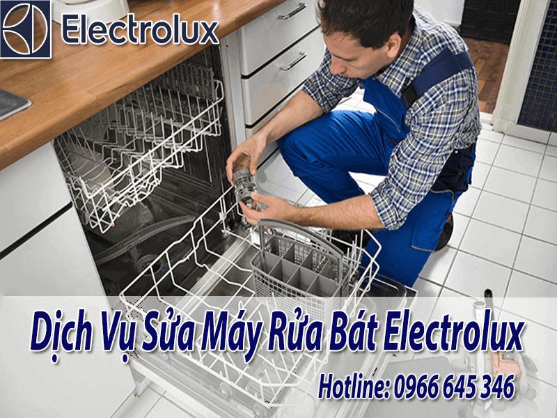 Sửa chữa máy rửa bát electrolux