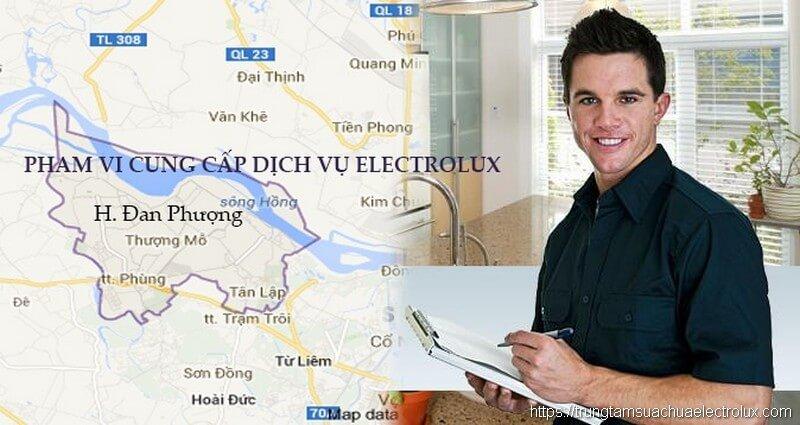 Phạm vi cung cấp dịch vụ electrolux tại Đan Phượng