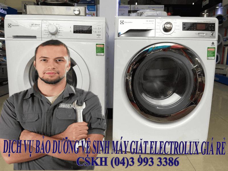 Địa chỉ vệ sinh bảo dưỡng máy giặt electrolux uy tín chuyên ngiệp