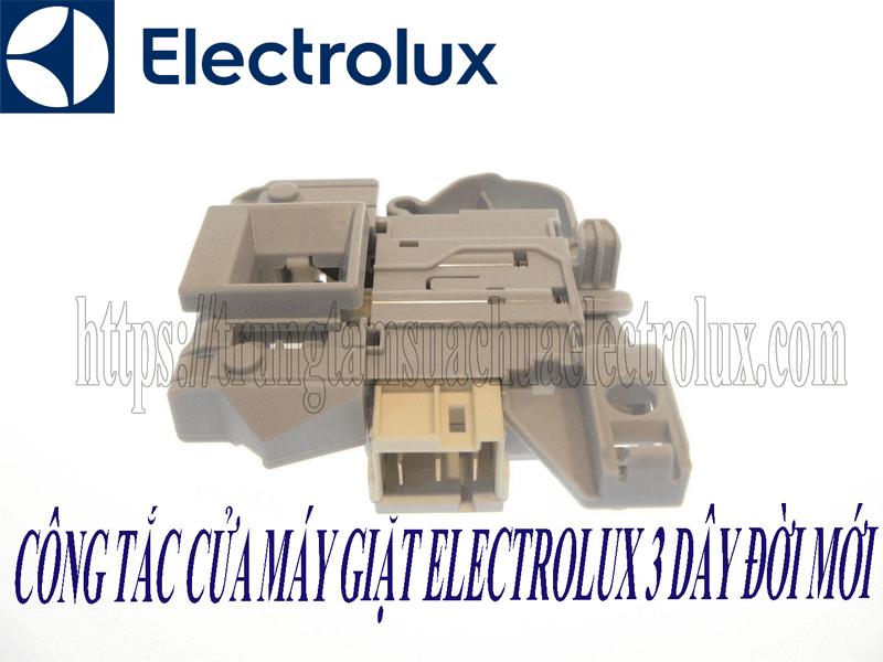 Công tắc cửa máy giặt electrolux 3 dây đời mới