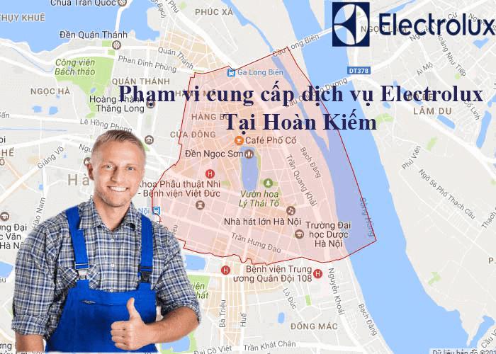 Phạm vi cung cấp dịch vụ electrolux tại Hoàn Kiếm