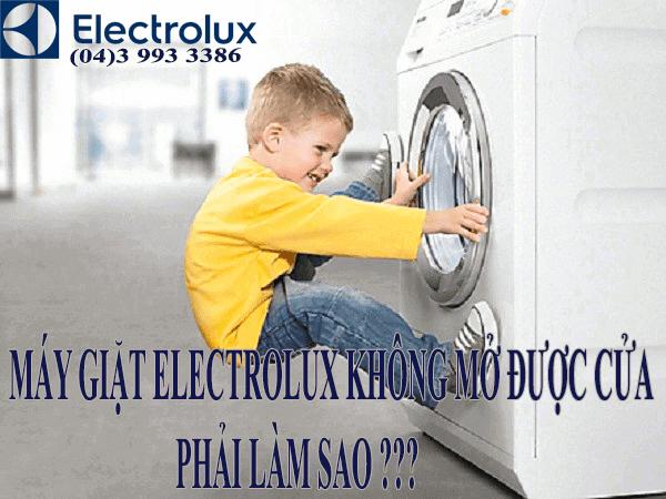 Khóa cửa máy giặt electrolux an toàn tuyệt đối khi vận hành