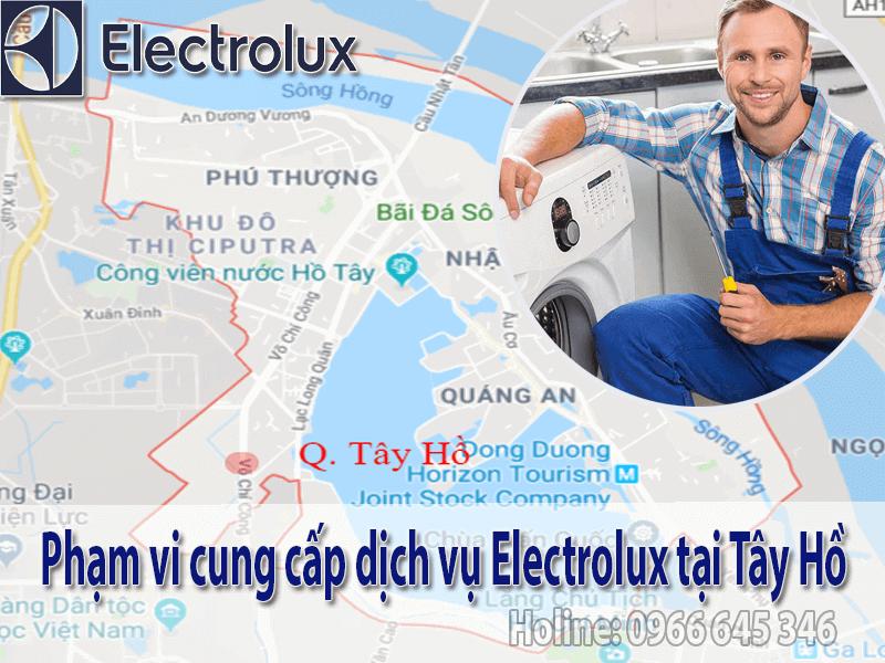dịch vụ electrolux tại tây hồ