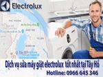 sửa chữa máy giặt electrolux tại tây hồ