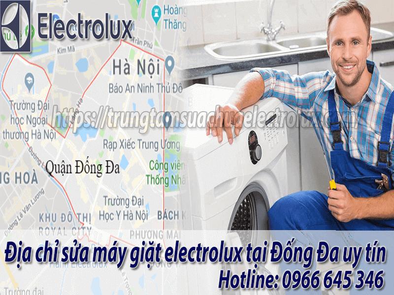 sửa máy giặt electrolux tại đống đa