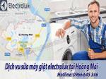 sửa chữa máy giặt electrolux tại hoàng mai