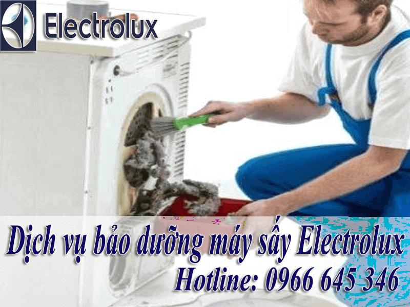 bảo dưỡng máy sấy electrolux