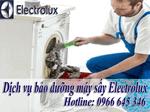 bảo trì bảo dưỡng máy sấy electrolux