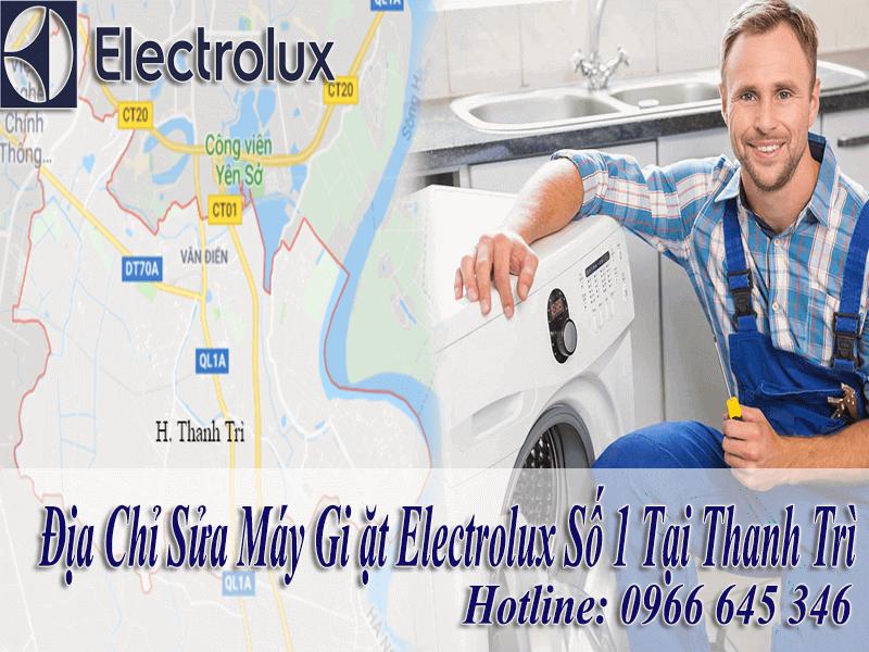 sửa máy giặt electrolux tại Thanh Trì