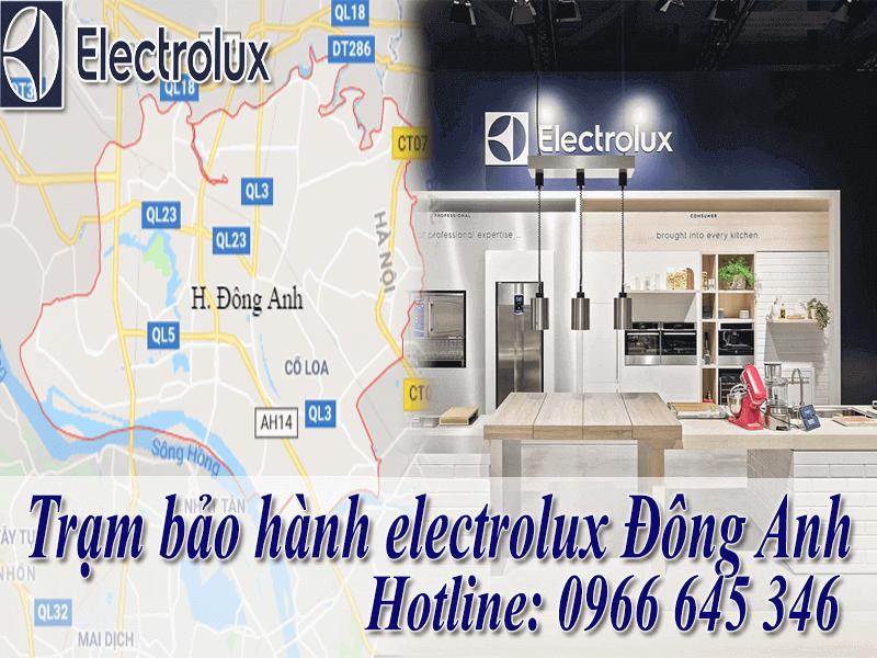 trung tâm bảo hành electrolux tại Đông Anh