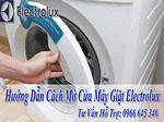 hướng dẫn cách mở cửa máy giặt