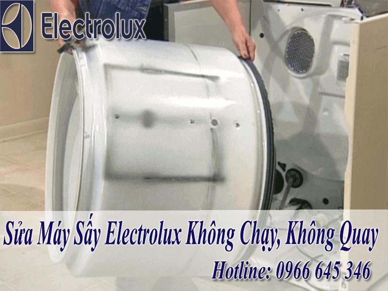Sửa máy sấy electrolux không chạy
