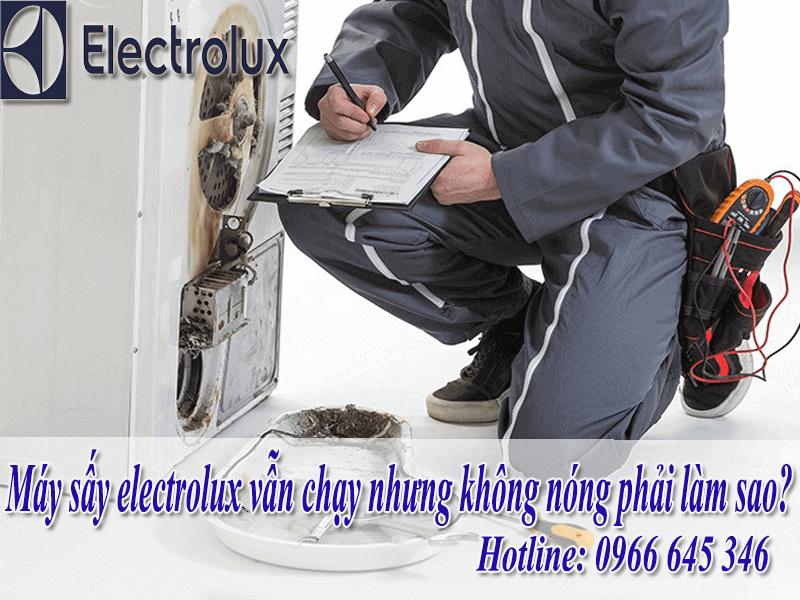 Sửa Máy Sấy Electrolux Không Nóng