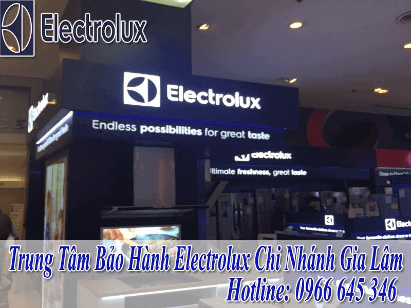 Bảo Hành Electrolux Tại Gia Lâm