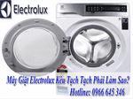 máy giặt electrolux kêu tạch tạch