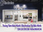 trung tâm bảo hành electrolux tại Bắc Ninh