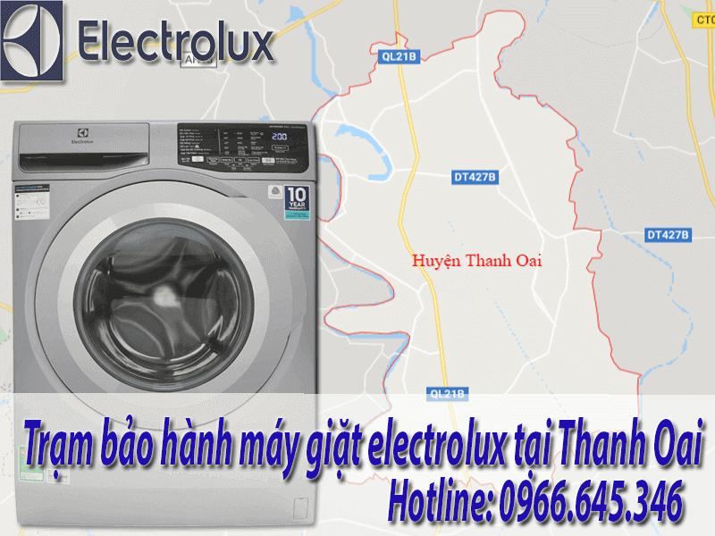 bảo hành máy giặt electrolux tại Thanh Oai