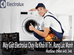 máy giặt Electrolux chạy khỏi vị trí