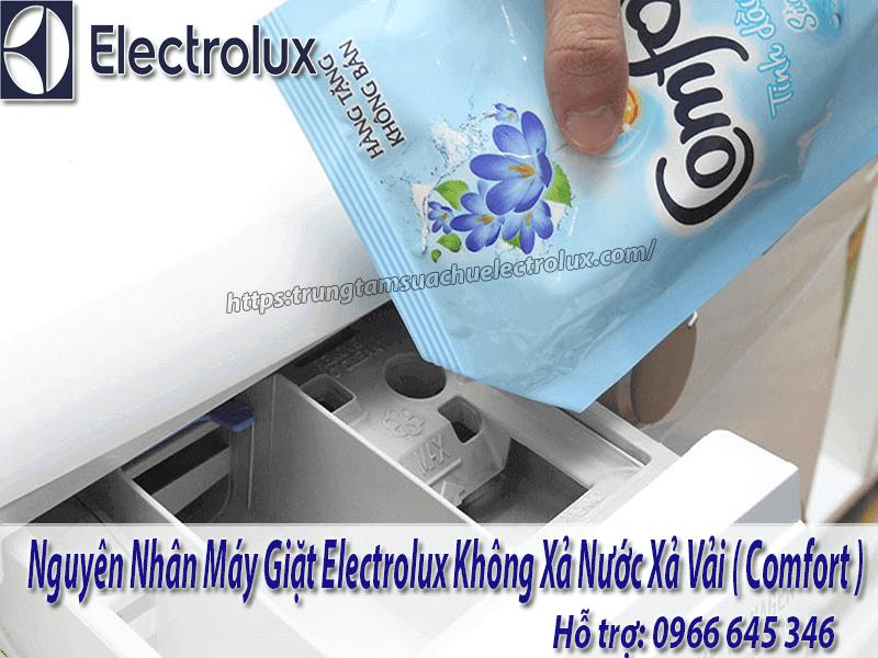 máy giặt electrolux không xả comfort
