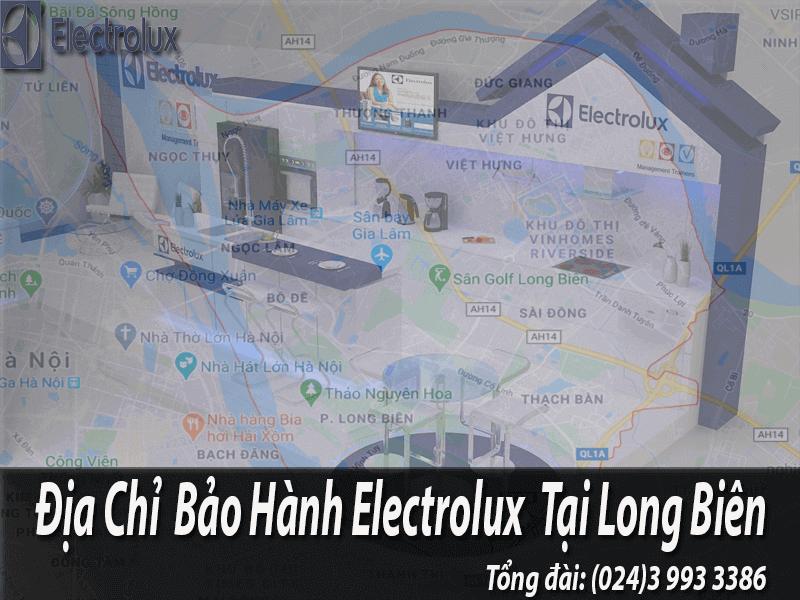 Bảo hành electrolux tại Long Biên