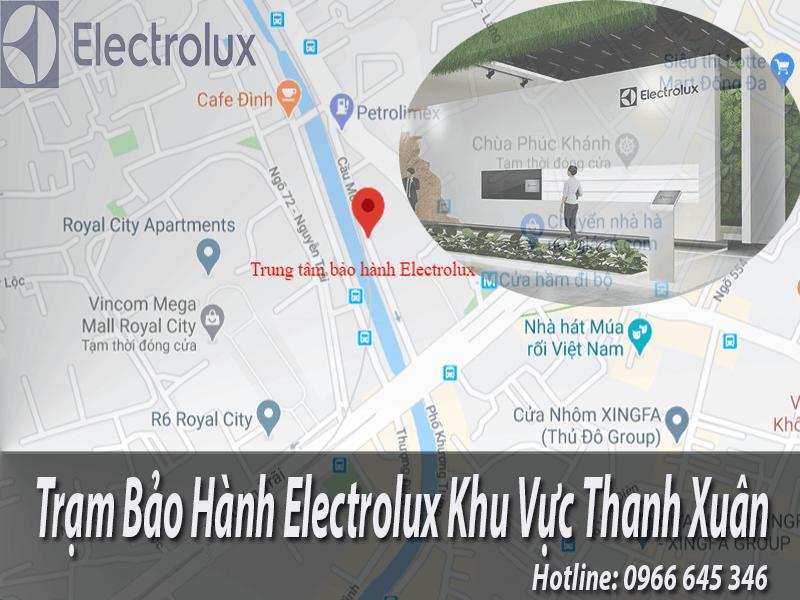 bảo hành electrolux tại Thanh Xuân