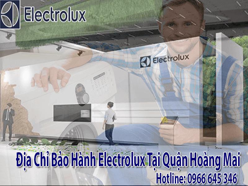 Trạm bảo hành electrolux tại Hoàng Mai