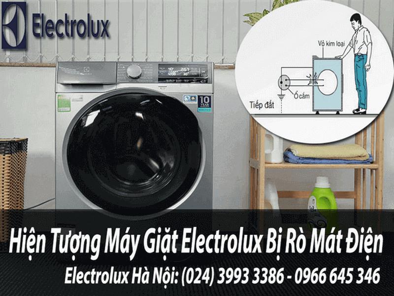 Máy giặt electrolux bị mát điện