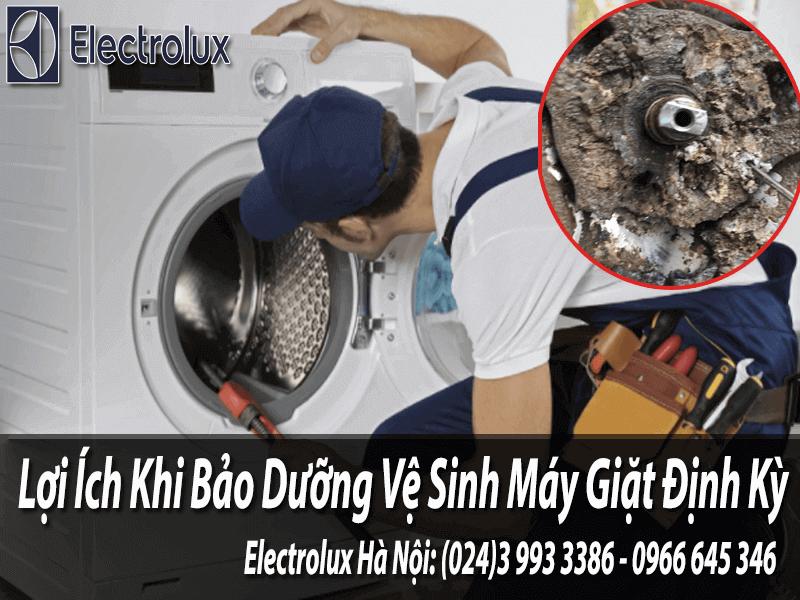 bảo dưỡng vệ sinh máy giặt định kỳ