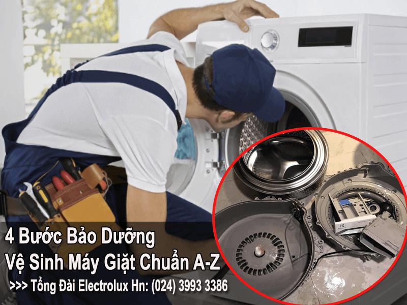 Vệ sinh bảo dưỡng máy giặt electrolux đúng cách