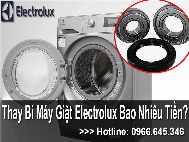 giá thay bi máy giặt electrolux